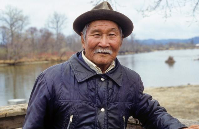 Old Udegeh man