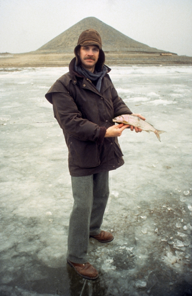Tom with fish